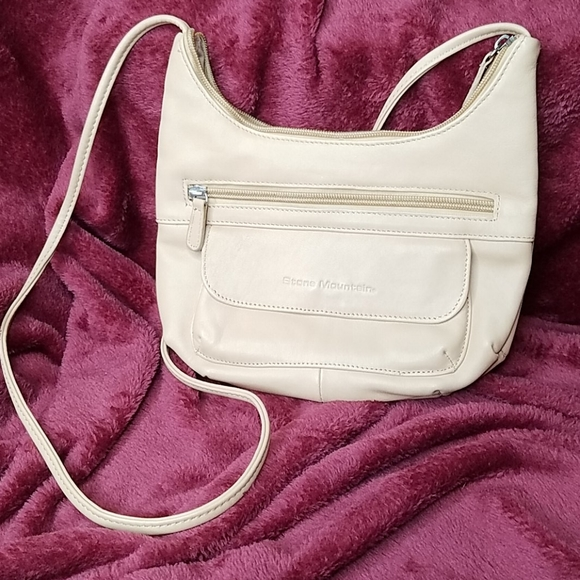 Stone Mountain Accessories Handbags - Stone Mountain Soft Leather Shoulder Bag